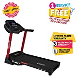 Cockatoo CTM15 (4 HP) Motorized Treadmill With Cooling Fan & FitShow App Support