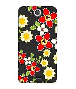 FUSON Designer Back Case Cover for InFocus M530 (Floral Patterns Digital Textiles Florals Design Patterns)