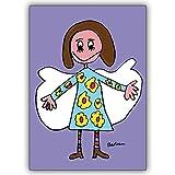 1 Geburtstagskarte: Schutzengel braucht man das ganze Jahr : verschicken Sie ihn als Grusskarte
