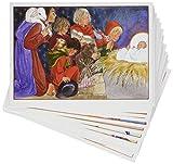 7 cartes postales - Série Vespasien