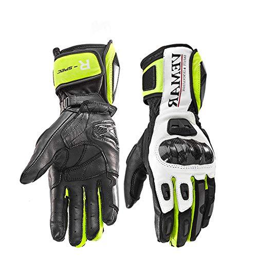 ZDHG Guanti Moto,Nuovi Guanti, Touch Screen/Anti-Skid/Anti-Usura /, Moto/Bicicletta/Sci, Adatto per L'Estate, Autunno e Inverno/Uomini e Donne (M-XXL),XL