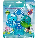 High Quality Ocean Animal Shape Water Filled BPA Free Teether-100% Safe For Babies Teether (Multicolor)