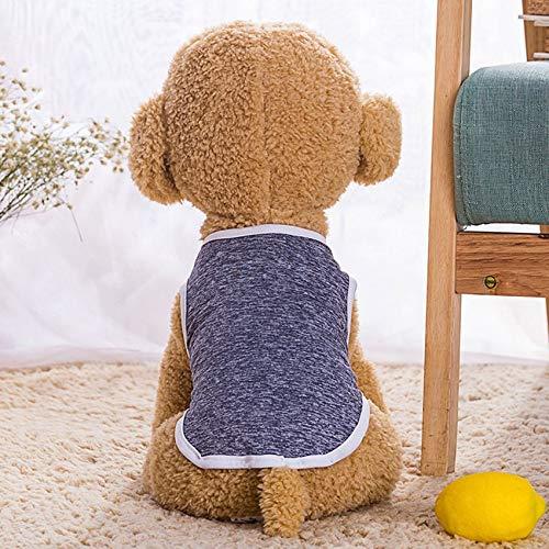 RoadRoman Netter Hund Katze T-Shirt-Weste-Haustier-Kleidung Bekleidung Westen Kostüme Kleidung