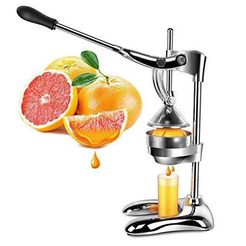 HTBSLK Edelstahl Zitrusfrüchte Saftpresse Orange Zitrone Manuelle Saftpresse Kommerzielle Fruchtpresse Handpresse Juicer (Juicer, Orange Kommerzielle)