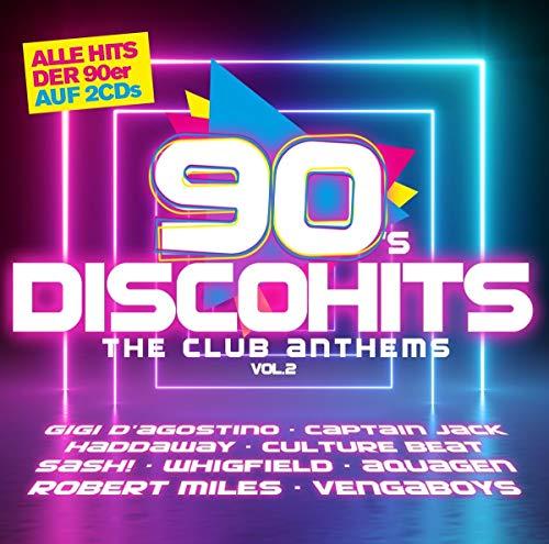 Preisvergleich Produktbild 90s Disco Hits-the Club Antehms Vol.2