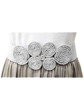 Cinturón Elástico Mujer Fiesta Estilo Cordón de Seda para Combinarlo Con Vestidos o Faldas, Varios Colores