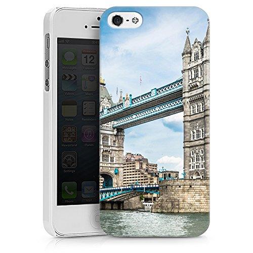 """artboxONE Handyhülle Apple iPhone 6s Plus, weiß Silikon-Case Handyhülle """"Towerbridge London Case"""" - Städte / London - Smartphone Silikon Case mit Kunstdruck hochwertiges Handycover von David Engel Hard Case weiß"""