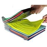 #2: YFXOHAR Clothes Organizer T Shirts Garment Folder File Cabinet Drawer System Office Desk File Cabinet 34.5 * 29.5 * 6.5cm