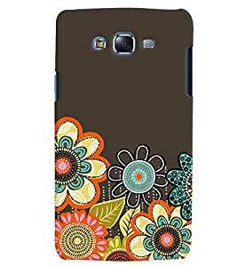 Citydreamz Traditional Rangoli Design/Floral Design/Beautiful Texture Print/Abstract Hard Polycarbonate Designer Back Case Cover For Samsung Galaxy J7 2016 /J76/J710
