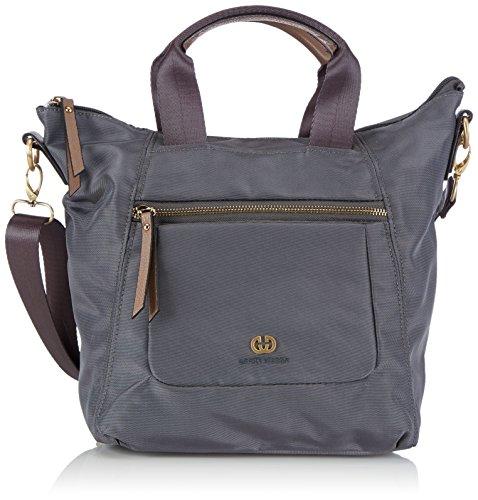 Gerry Weber - Shine Handbag, Borsa A Tracolla da donna grigio (dark grey)