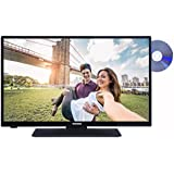 Telefunken XH28A101D 72 cm (28 Zoll) Fernseher (HD Ready, Triple Tuner, DVB-T2 HD, DVD-Player)[Energieklasse A+]