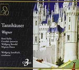 Wagner : Tannhauser. Kollo, Janowitz, Sawallisch.