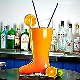 bar@drinkstuff Bierglas, in Stiefelform, sehr groß, circa 2,8l - 8