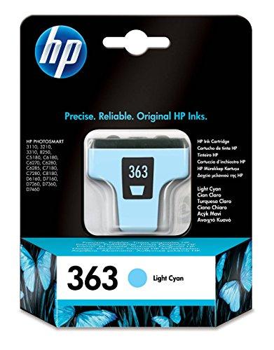 HP C8774EE 363 – Cartucho de Tinta, color cian claro