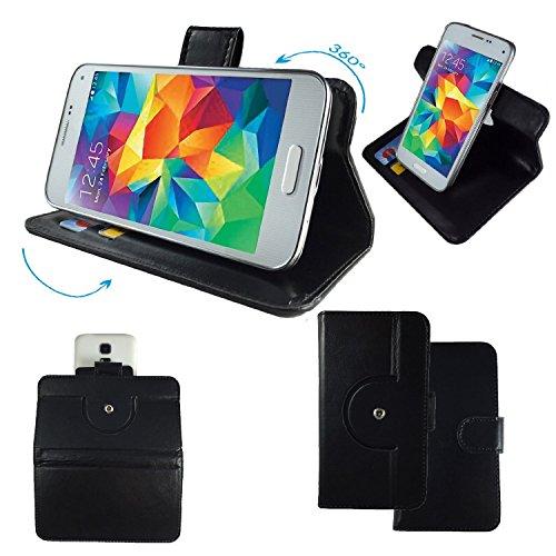 general-mobile-discovery-air-smartphone-tasche-schutzhulle-mit-360-dreh-und-standfunktion-360-schwar