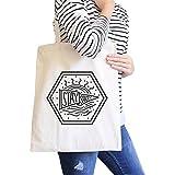 Canvas Tote Einkaufstasche Stay Salty niedlich Strand Tasche natur perfekt Sommer Geschenk Ideen Cute Umweltfreundlich wiederverwendbar Natural Handtasche für Damen