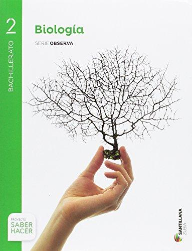 BIOLOGÍA SERIE OBSERVA 2 BTO SABER HACER - 9788491088370