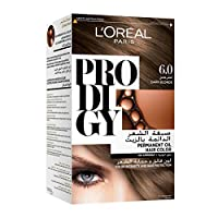 L'oreal Paris Prodigy Permanent Hair Oil Color , No Ammonia, 6.0 Dark Blonde