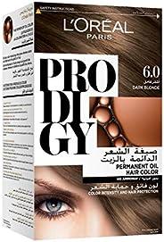 L'oreal Paris Prodigy Permanent Hair Oil Color , No Ammonia, 6.0 Dark Bl