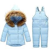 FAIRYRAIN - Traje de Nieve - para bebé niño Azul Azul 2-3 Años