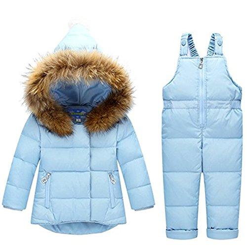 c7b5d6f07 FAIRYRAIN - Traje de nieve - para bebé niño azul azul 2-3 Años