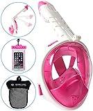Best Snorkel Masks - HELLOYEE Snorkel Mask 180° Panoramic View Breathe Free Review