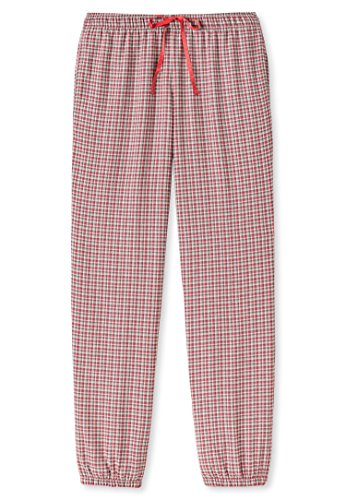 Flanell Damen Hose (Schiesser Damen Hose lang aus Flanell 154061, multicolor 1, 44)