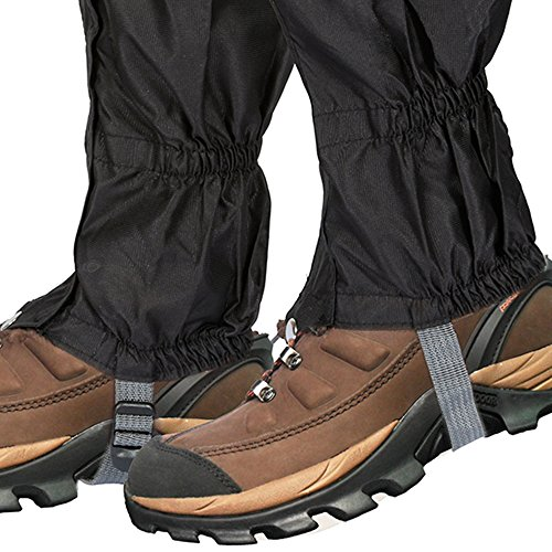 Lictin 1 Pair Hiking Gaiters Leg Gaiters SnowGaiters Mountain Snow Legging Gaiters LightweightHikingGaiters Waterproof Windproof Durable Gaiters Outdoor Walking Climbing Legging Gaiter
