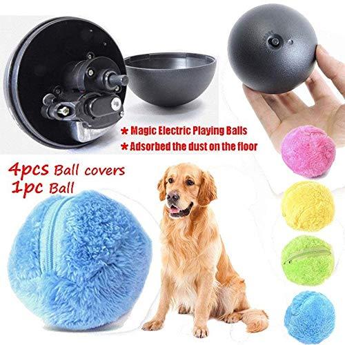 KOBWA Pelota de Juguete eléctrico para Mascotas