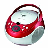 Naxa Portable Cd Player With Am/Fm Radio (Red) Product Type: Boom Boxes/Boom Boxes