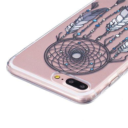 "iPhone 7 Plus Coque - MYTHOLLOGY Silicone Coque Antidérapant Antichoc Housse Protection Etui Pour iPhone 7 Plus 5.5"" MH HSFL"