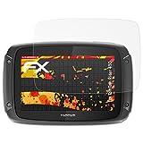 atFoliX Folie für Tomtom Rider 450 Displayschutzfolie - 3 x FX-Antireflex-HD hochauflösende entspiegelnde Schutzfolie