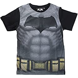 Batman - Camiseta de manga corta - para niño negro 8 años
