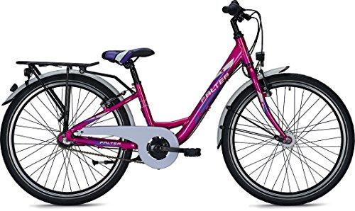 Kinder-/Jugendfahrrad Falter FX 403 ND Wave 24' 3G Rücktritt Rh 34 div. Farben, Farben:pink metallic-glanz