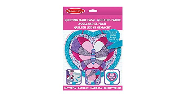 Melissa And Doug Quilting Made Easy New 40092 Butterfly