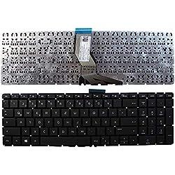 Keyboards4Laptops HP Home 15-bs074nf Noir Windows 8 Layout Allemande Clavier pour Ordinateur Portable (PC) de Remplacement