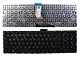 Keyboards4Laptops kompatibel Deutsch Gestaltung Schwarz Windows 8 Laptop Tastatur Ersatz für HP Home 15-bs102ng