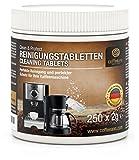 Coffeeano 250x Reinigungstabletten Clean&Protect für Kaffeevollautomaten und Kaffeemaschinen. Reinigungstabs kompatibel mit Jura, Siemens, Krups, Bosch, Miele, Melitta, WMF uvm.