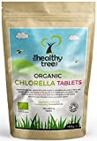 Compresse Chlorella Bio - Ricche di Magnesio, Fibre, Proteine, Potassio, Ferro e Clorofilla - Certificate Organiche da Soil Association - 300 compresse di qualità superiore x 500 mg di TheHealthyTree Company