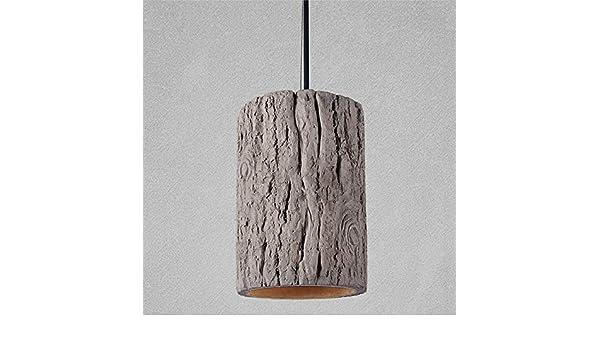Retro Loft Nordic ceppo stile Cemento lampade a sospensione