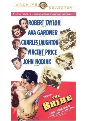 Bribe [DVD] [1949] [Region 2] Robert Taylor, Ava Gardner, Charles Laughton