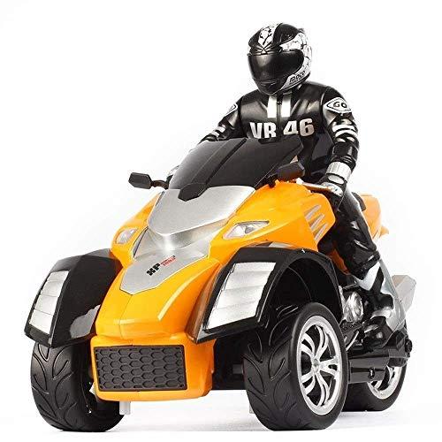 SSBH 1/10 ATV a 3 Ruote Motocicletta Pronto for la Corsa Triciclo Fuoristrada 2.4G Telecomando Macchina da Corsa ad Alta velocità Bambini Adulto Bambino Regalo di Natale Bambini in Metallo Bamb