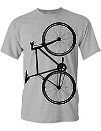 Bicicletta Maglietta: Fixie Bike - T-Shirt da Bicicletta Come Regalo per i Ciclista - MTB - Corridore - Fixie - Mountain Bike - BMX - Regalo per Gli Amanti della Bicicletta