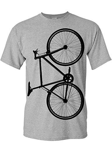 T-Shirt: Fixie Bike - Fahrrad Geschenke für Damen & Herren - Radfahrer - Mountain-Bike - MTB - BMX - Fixie - Rennrad - Tour - Outdoor - Sport - Urban - Motiv - Spruch - Fun - Lustig (L)