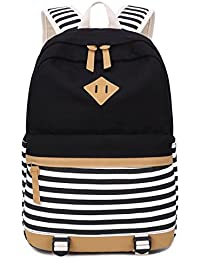 Zaino Casual Scuola Set 3pcs Daypacks/Canvas Backpack Tela Zaini Ragazza/Donna+ Messenger Bag + Purse