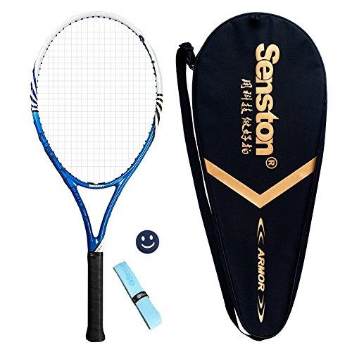 Senston Raquette de Tennis, Raquette de Tennis Adulte, y compris Sac de Tennis et 1pc...