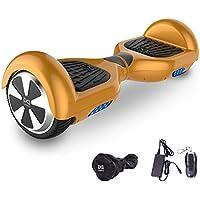 Cool&Fun Balance Board 6,5 Pouces Smart Scooter Skateboard Électrique Gyropode 2x350W de Boutique GyroGeek (Or)