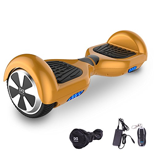Cool&Fun Hoverboard Patinete Eléctrico Scooter Monopatín...