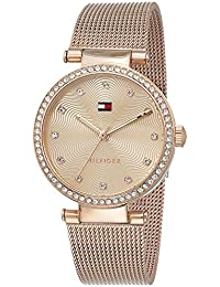 Tommy Hilfiger Analog Rose Gold Dial Women's Watch - TH1781865