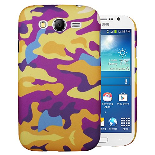 Heartly Army Style Retro Color Armor Hybrid Hard Bumper Back Case Cover For Samsung Galaxy Grand Duos I9082 / Galaxy Grand Neo GT-I9060 / Galaxy Grand Neo Plus I9060I - Yellow Field  available at amazon for Rs.249